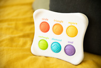 Dimpl Duo by Fat Brain Toys, Sensory Toy Fine Motor Skills Colour Shape 12+ M...
