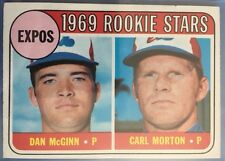 1969 Topps #646 Expose Rookies Star Baseball Card Near Mint Condition
