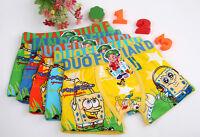 Lot 10 pcs Spongebob cartoon Children cartoon boy cotton underwear Boxer shorts