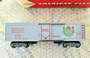 GILBERT AMERICAN FLYER 24419 CANADIAN NATIONAL REEFER w/SOLID 24419 OB
