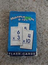 School Zone Multiplication 0-12 Flash Cards