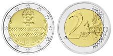 PORTUGAL 2 EURO 60 JAHRE MENSCHENRECHTE 2008 bankfrisch