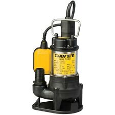 Davey D15VA Automatic Vortex Drainage Submersible Sump / Dirty Water Pump