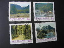 NEW ZEALAND USED SET- 1975 FOREST PARKS SG 1075/8