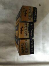 3x Haltron ECL83 Vacuum tubes . NOS. Original packaging.