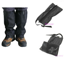 Outdoor Hiking Walking Waterproof 1 Pair  Climbing Hunting Snow Legging Gaiters