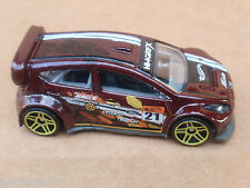 2015 Hot Wheels 12 FORD FIESTA 78/250 Road Rally LOOSE Red