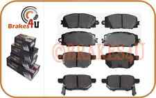 D1184 D1423 FRONT & REAR Brake Pads fits Vitz 05-10 Yaris 07-14 Belta 05-08