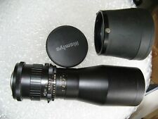 Mamiya-Sekor Seiko f8 500mm Telephoto Lens With Cap And Hood