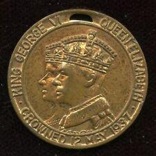 1937 Parish of Lancaster New Brunswick King George VI Coronation Medal