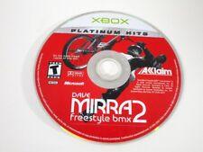 Dave Mirra Freestyle BMX 2 game for Microsoft Xbox - Loose