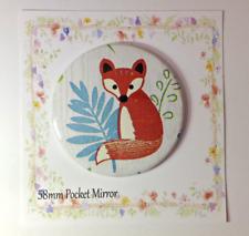 Pocket Mirror Fox Bag Makeup Purse Birthday Party Filler Wedding Hen