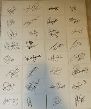 Watford Football Club 44x Signed White Cards