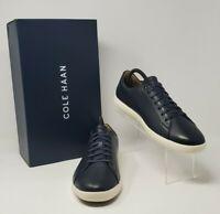 Cole Haan Grand Crosscourt II Navy Men's Size 10M C26522 Leather Brand New