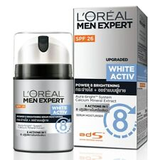 L'Oreal Men Expert White Activ Aura Brightening Serum Moisturizer SPF26 50ml