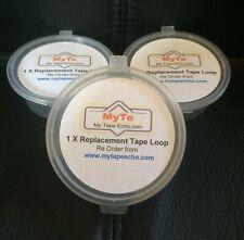 3 X ROLAND Space Echo (RTL-1) Tape Echo Loops RE101,RE201,RE301,RE501,SRE555
