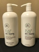 Paul Mitchell Tea Tree Scalp Care Anti-Thinning Shampoo & Conditioner 33.8oz 1 L