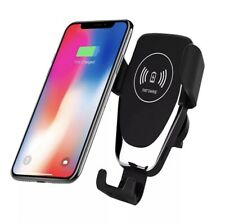 10W QI Wireless Fast Charger Car Mount Holder Stand For iPhone X's 11 Samsung S9