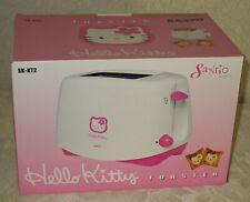Hello Kitty Toaster - Kitty Face on Each Slice! Sanrio - New in Box