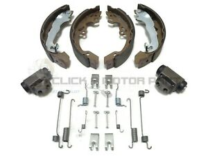 FORD FOCUS MK1 1998-2004 REAR BRAKE SHOES SET 2 WHEEL CYLINDERS AND FITTING KIT