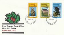 (91941) New Zealand FDC Christmas - Wanganui 3 October 1979