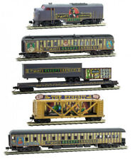 Micro-Trains MTL N-Scale Halloween Dr. Mort's Creepy Carnival Complete Train Set