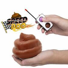 Control Remoto Hilarious rápida velocidad Poo Family Fun unidad y centrifugado Divertido Juguete *