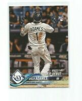 WILLY ADAMES (Tampa Bay Rays) 2018 TOPPS UPDATE ROOKIE CARD #US25