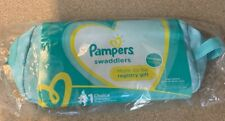 Pampers New Mom-to-be Registry Gift tote compact diaper bag purse green - NEW
