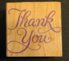 Hero Arts Fancy Thak You Rubber Stamp F366
