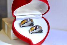 with Band Diamond Engagement & Wedding Ring Sets
