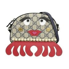 Gucci Kids Girls GG Octopus Handbag Bag Children's Supreme Canvas Ink/multi