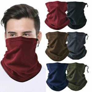 Windproof Outdoor Thermal Neck Gaiter Warm Tube Scarf Motorcycle Ski Face Cover