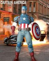 "Captain America Marvel Avengers 1:6 Scale Crazy Toys 12"" Figure Empire 30"