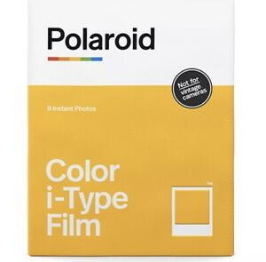 Polaroid Color Film for I-Type (8 Sheets) Fast Free Shipping USA Global Shipper