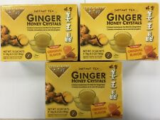 Prince Of Peace Ginger Honey Crystals - 10 Tea Bags x 3 Pack  :EXP: 01/2020