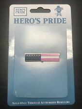 Hero's Pride Emblems and Badges Breast Cancer Awareness Flag Pin 1.75 Inches NIP