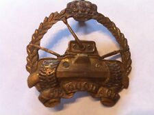 Belgian army armoured badge insigne blindee char 2