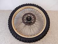 1989 Yamaha YZ 250 Front Wheel Rim Hub Brake Rotor - Free Shipping