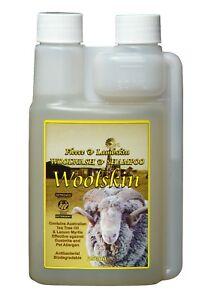 Sheepskin Detergent Shampoo  Sheepskin Wash Cleaner - Woolskin Woolwash 250ml