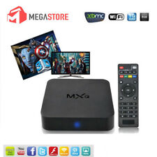 MXQ 4K*2K 1080P Smart TV BOX XBMC H.265 Android Quad Core WiFi 8GB Mini PC