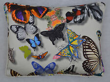 Designers Guild Christian Lacroix, Cushion Cover 'Butterfly Parade' Daim 12x16
