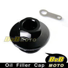 CNC Engine Black Oil Filler Cap For YAMAHA YZ80/85 1998-2014 99 00 01 02 03