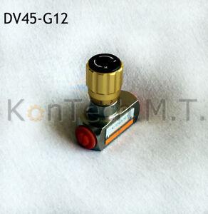"Hydraulik Drosselventil - 45 l/min - G1/2"" - Stahl, verzinkt"