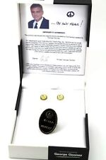 Whatever It Takes by George Clooney Gold-Tone Ring & Earrings Set in Gift Box