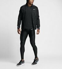 Nike Men's Large Shield Impossibly Light Black Running Jacket 808648-010