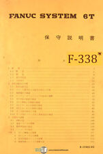 Fanuc 6T, Control Japanese Programming and Operations B-52005-03 Manual 1990