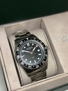 Rotary Divers GMT GB03014/04 Men's Stainless Steel Bracelet Watch
