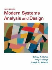 Modern Systems Analysis and Design [6th Edition]