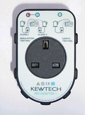 Kewtech Patadapter 1 Portable Appliance Test Adaptor Box For 17th Edition Tester